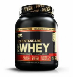 100% Whey Protein Gold Standard 1,09kg (20% Bônus)