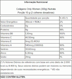 Colágeno Only Women (300g)